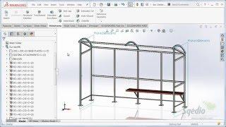 8. SolidWorks 2016: Construção Soldada
