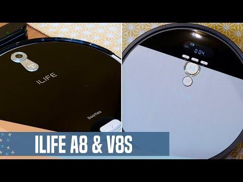 MEJORES robot aspirador ECONÓMICOS del momento: iLife A8 & V8s
