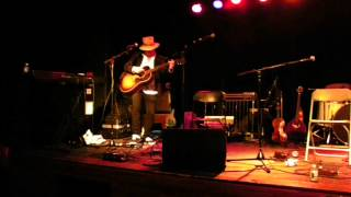 """Gary Lucas plays Arthur Russell's """"Lets go swimming"""" at Littlefield in Brooklyn  NYC 6/11/13"""