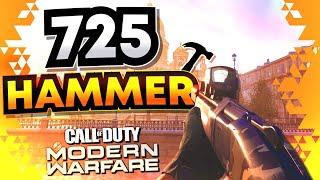 725 HAMMER Legendary Variant Review (Call of Duty: Modern Warfare)