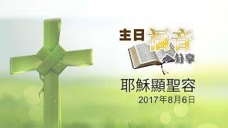 32主日福音分享 - 耶穌顯聖容