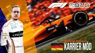 F1 2018 // 11. futam: Németország - Hockenheim // McLaren Renault KARRIER