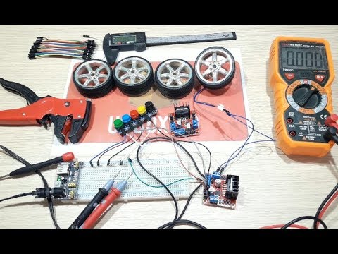 how to use L298N Dual H Bridge Stepper Motor Driver without arduino