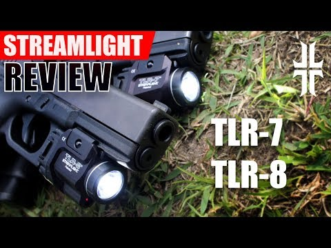 Streamlight TLR-7 and TLR-8 Flashlight Review