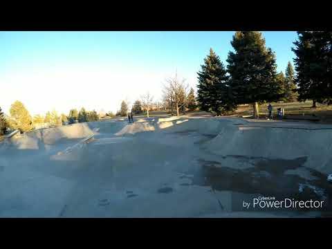 Edora skatepark Freerunning