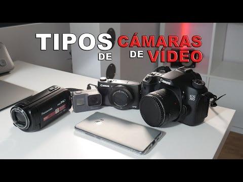 ¿Qué tipo de cámara de vídeo me compro?