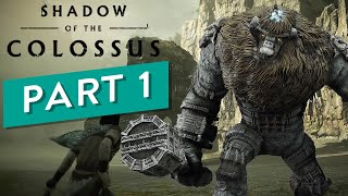 Shadow of the Colossus Gameplay Part 1 Full Game [PS4 HD] The 1st Colossus Valus