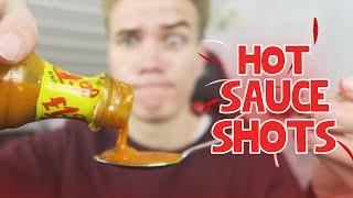 HOT SAUCE CHALLENGE! - (Shot Roulette) - Unfair Mario