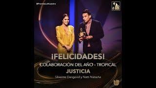 El mensaje completo de Silvestre Dangond al ganar el premio Lo Nuestro