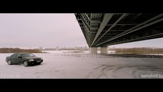 Mercedes Benz С W202 - DJI Phantom 2 - Russia, Omsk (Siberia)