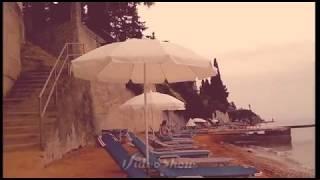 Дождливый день на пляже. Остров Корфу, Греция