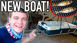 CATCH CLEAN COOK in my BRAND NEW BOAT!!!