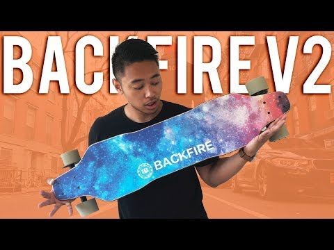 BACKFIRE 2 Electric Skateboard | CHEAP Boosted Board Alternative
