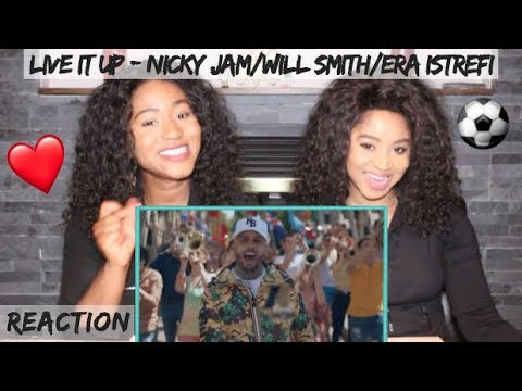 Live It Up - Nicky Jam Feat. Will Smith & Era Istrefi [2018 FIFA World Cup] | REACTION