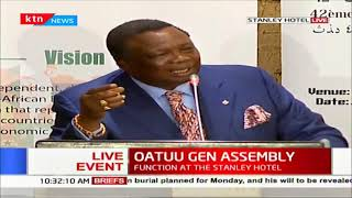 OUATUU Gen Assembly: COTU's Francis Atwoli address