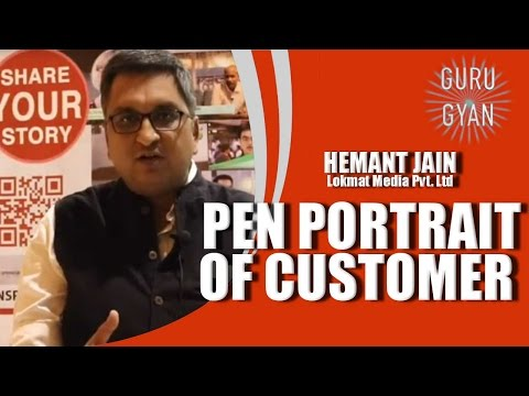 Making a Pen Portrait of Your Customer! #GuruGyan