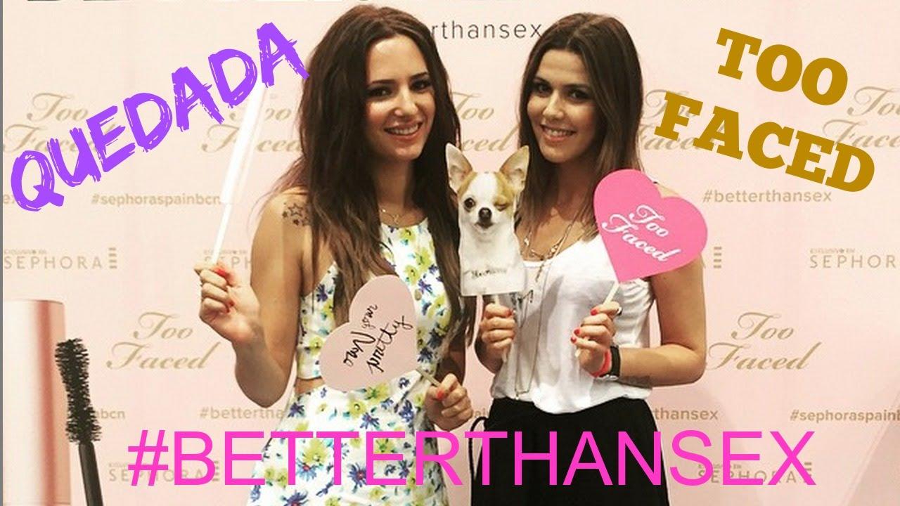VLOG: Quedada Barcelona! Too Faced! #Betterthansex
