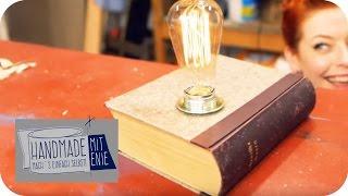 Buch-Lampe  | Handmade mit Enie - Mach's einfach selbst | sixx