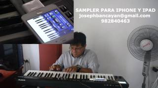 SAMPLER PARA IPHONE Y IPAD