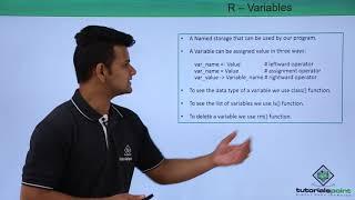 R Programming - Variables