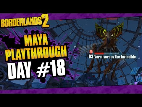 Borderlands 2 | Maya Reborn Playthrough Funny Moments And Drops | Day #18