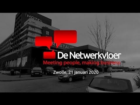 Netwerkvloer toont aftermovie van dinsdag 14 januari