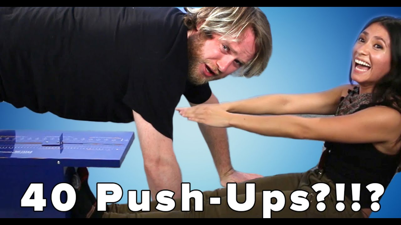 People Retake The Elementary School Fitness Test thumbnail
