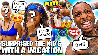 SURPRISED THE KID'S WITH A VACATION TO AQUATICA WATERPARK! (JAY & MARK GOT NEW CRUSHES)