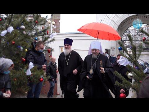 Митрополит Иоанн совершил праздничное богослужение в Старом Осколе