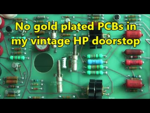 NATO HP 180A oscilloscope teardown