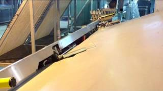 Bending Warmex thermoworks on automatic lines Lisec