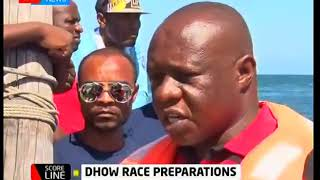 Scoreline: Dhow race preparations