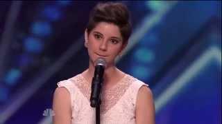 America's Got Talent 2015 Season 10 - Auditions - Alicia Michilli