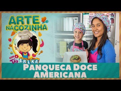 PANQUECA DOCE AMERICANA | Especial de férias com a Tia Érika