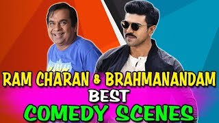 Ram Charan & Brahmanandam Best Comedy Scenes | South Indian Hindi Dubbed Best Comedy Scenes