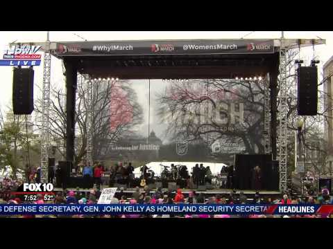 LIVESTREAM: Women's Rights March in DC