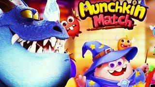КОНФЕТНЫЕ ЭЛЬФЫ В МАНЧКИН МАТЧ Munchkin Match magic home building видео для детей