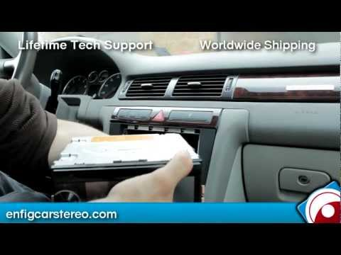 How-To-Install 02-05 Audi A6 Radio Install Double Din