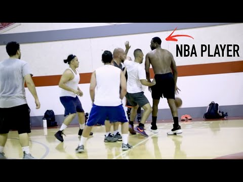 These Regular Guys Challenged An NBA Player And Instantly Regretted It