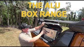 The Alu Box - Storage for all your camping and four wheel drive needs