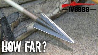 How Far Will a Bow & Arrow Kill?
