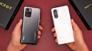 Xiaomi Poco X3 GT vs Xiaomi Poco F3 Comparison - With Camera Comparison