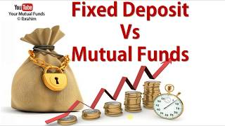 MUTUAL FUNDS VS FIXED DEPOSIT | FD vs MF investment in English