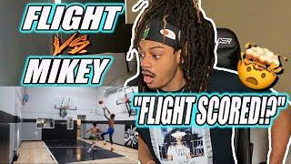 "1V1 AGAINST Mikey Williams! (Reaction) ""FLIGHT SCORED?!"""
