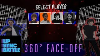 The Cast of Stranger Things 360° Face-Off | Lip Sync Battle