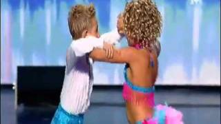 Amazing 8 year old dancers on France got talent