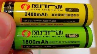 Cheap Ebay 18650 Li-ion batteries (test and autopsy)
