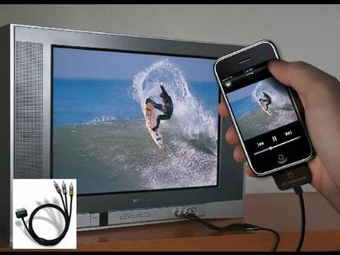 How to Display Your iPhone & iPod Touch On a TV - TVout2