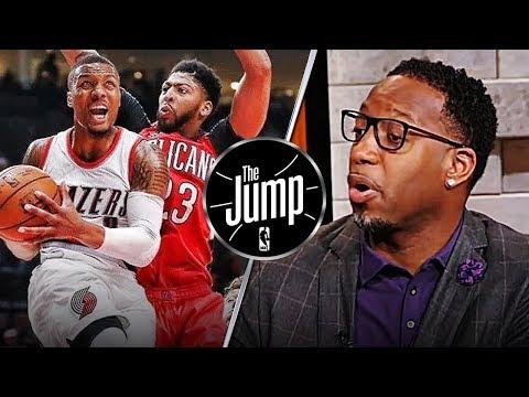 McGrady Praises Pelicans Great Team Defense On Damian Lillard & C.J. McCollum   The Jump