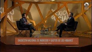 México Social - Encuesta Nacional de Ingresos y Gastos de los Hogares